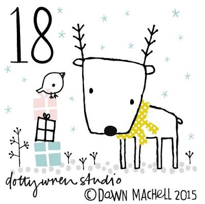 dottywrenstudio: advent...day 18