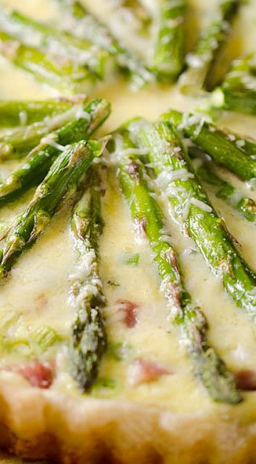 Asparagus quiche, Quiche and Asparagus on Pinterest