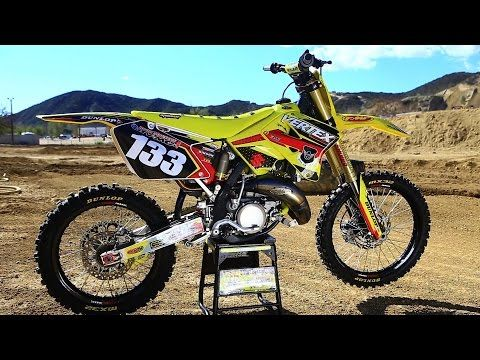 Suzuki Rm125 2 Stroke Project Build Shaken Not Stirred