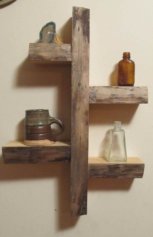 Woodworking woodworking projects and shelves on pinterest for Wood craft shelves