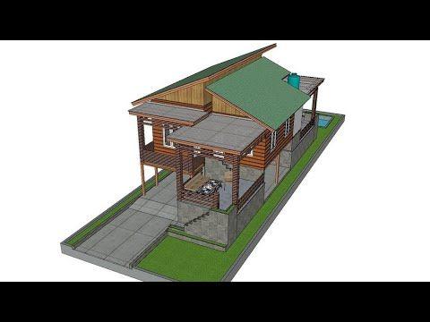 Pin Di Desain Rumah Kayu Pedesaan