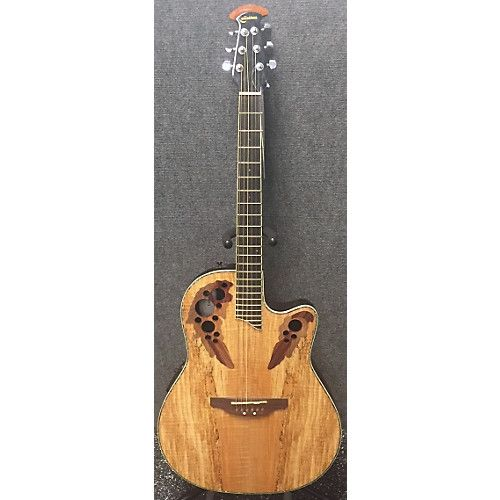 Ovation CC44-SM Acoustic Electric Guitar Spalted Maple