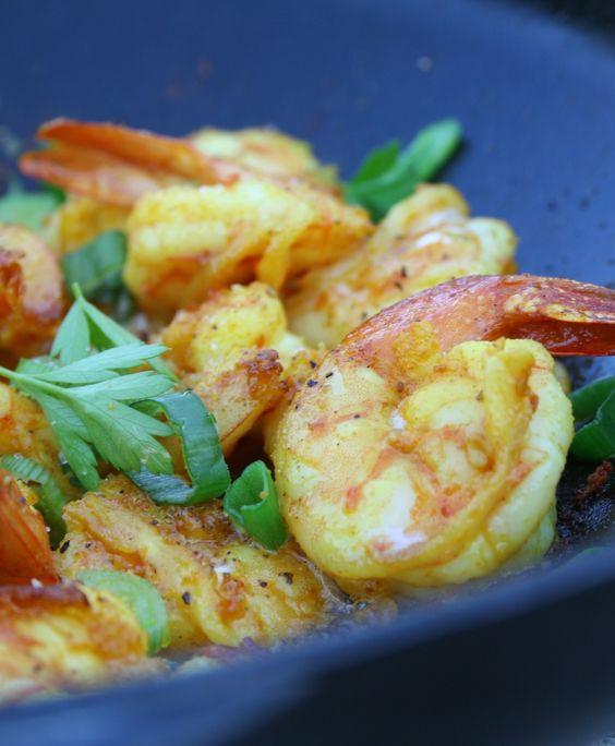 Crevettes sautées aux épices - La popotte de Manue