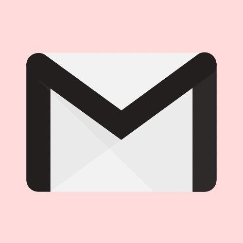 Pink Gmail Icon Iphone Icon App Icon Iphone Photo App