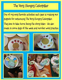 Golden Gang Kindergarten: The Very Hungry Caterpillar