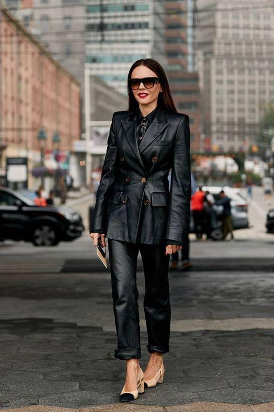 Estas Preparada Para Los Mejores Outfits De Cuero? – Cut & Paste – Blog de Moda