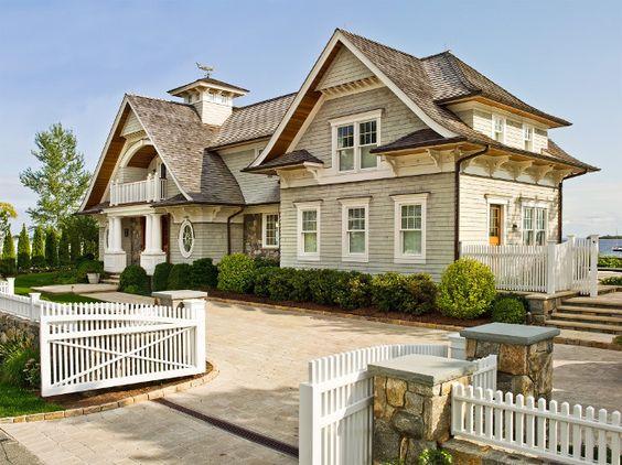 interior designers in ri - Beach house exteriors, Beautiful beach houses and House exteriors ...