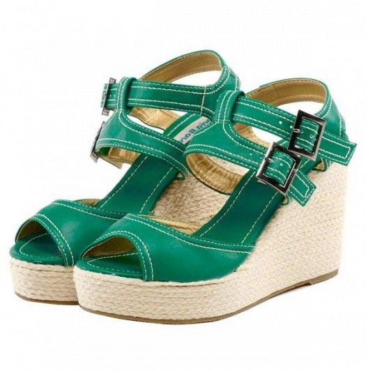 Rocky Yesil Bayan Sandalet Modelleri Kadinlive Com Trending Shoes Shoes Heels