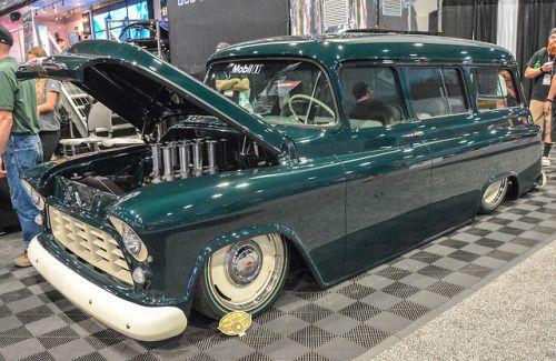 Rollinmetalart 2018 Sema Show Las Vegas Nv 1955 56 57 Chevy