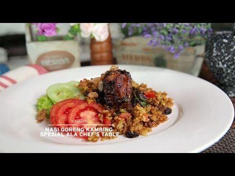 Chef S Table Main Course Nasi Goreng Kambing Ala Chef S Table Youtube Main Course Nasi Goreng Cooking Show