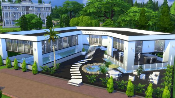 Welcome To Our Eight Interactive The Sims 4 Gallery Spotlight In This Spotlight We Re Featuring Some Of The Most Sims 4 Penthouse Sims House Sims House Plans