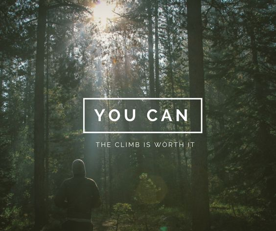 The Climb is worth it http://www.eanbarnard.com/getting-busy-ditches-forgetting-climb-mountain/