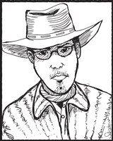 retrato de Cirilo S. Lemos, escritor brasileiro