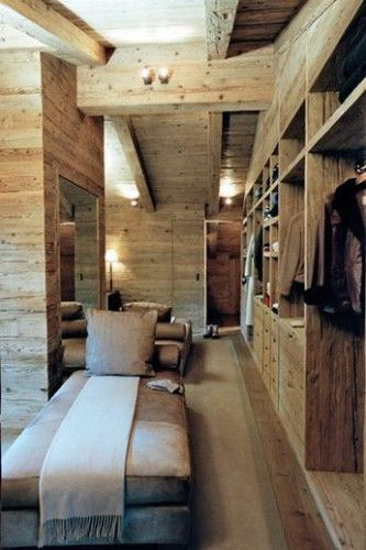 ambiance chalet la d co a du charme chalets placard et dressings. Black Bedroom Furniture Sets. Home Design Ideas
