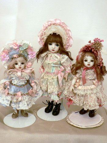 人形の専門店ドルスバラードの催事「創作人形展「春」」