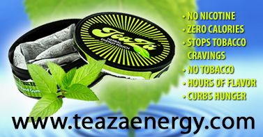 Try TeaZa to get that energy kick without all of the fillers www.teazaenergy.com
