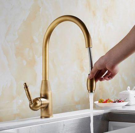 Kitchen Sink Faucets Bronze 40 Ideas Kuche Waschbecken Wasserhahn Kuche Bronze