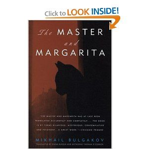 Currently reading: The Master and Margarita. Cannot describe it at all. A classic. Weird. Good.