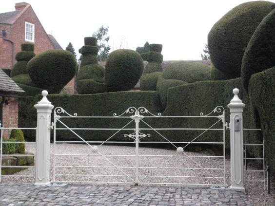 deer park entrance gate   mlwy   pinterest   entrance gates, gates,