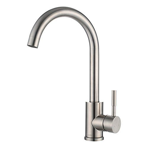 Dhpz Kitchen Faucet 304 Stainless Steel Hot And Cold Water Wash