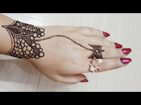 bracelet mehndi designs for hands