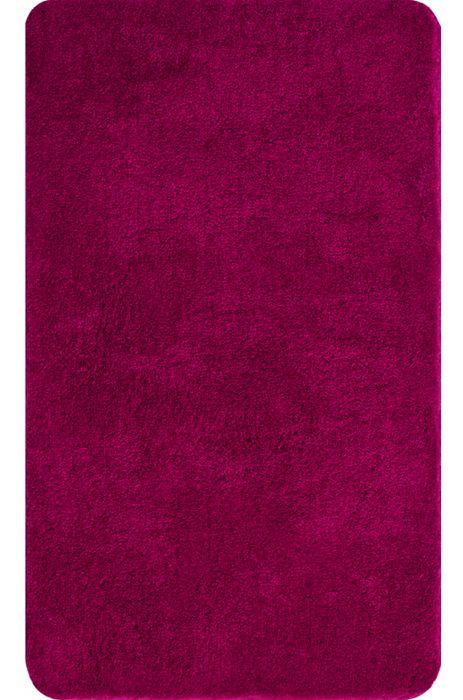 Der flauschige Badteppich Lex in pink hat eine Florhöhe von 32 mm und ist aus Polyacryl ultrasoft. Der Teppich ist waschbar bei 40°C und geeignet für Fußbodenheizung. Die Rückseite ist rutschhemmend beschichtet.