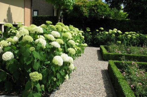 Engelse tuin vrijstaande woning garden pinterest met en tuin - Geplaveid voor allee tuin ...