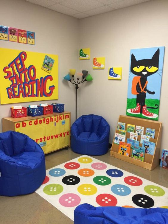 Classroom Decoration Ideas Fortune ~ Pete the cats and chairs on pinterest