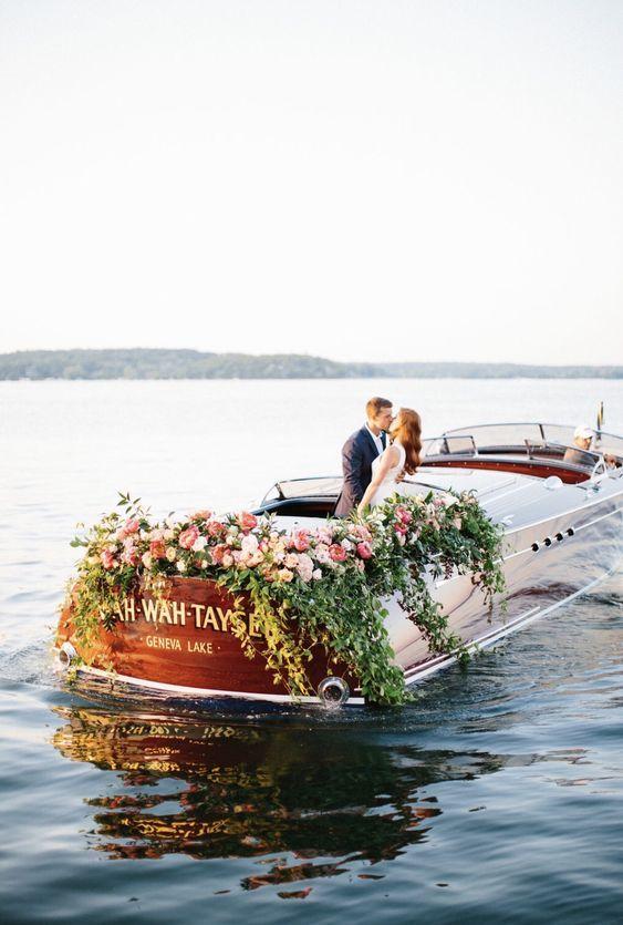 wie ist eine Hochzeit auf einem Schliff? so romantisch! oder?