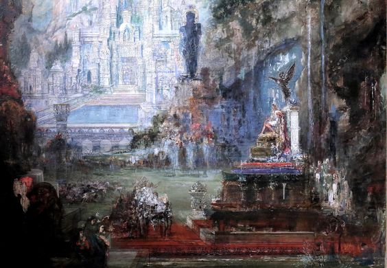 The Triumph of Alexander. Gustave // Gustave Moreau