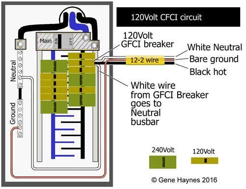 120 Volt Gfci Breaker Wiring Diagram
