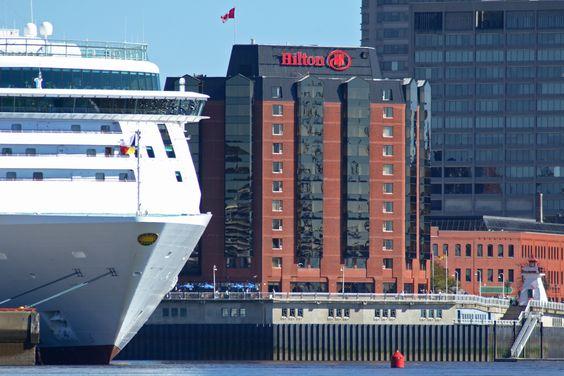 Le port de Saint John est parfaitement situé pour que votre excursion commence le moment même où vous arrivez sur le quai.   Excursions de croisière au Nouveau-Brunswick, Canada.