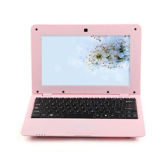 Un mini PC Android 4.4 rose de 10 pouces avec une mémoire de 24 Go, idéal pour les mamans connectées - www.yonis-shop.com