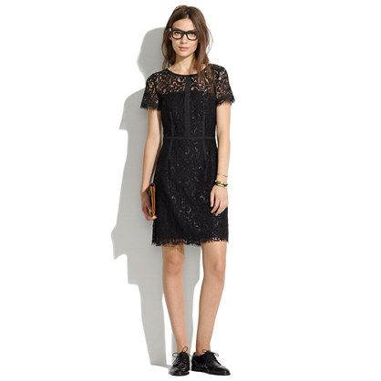 Night Lace Sheath - waist defined dresses - Women's DRESSES - Madewell