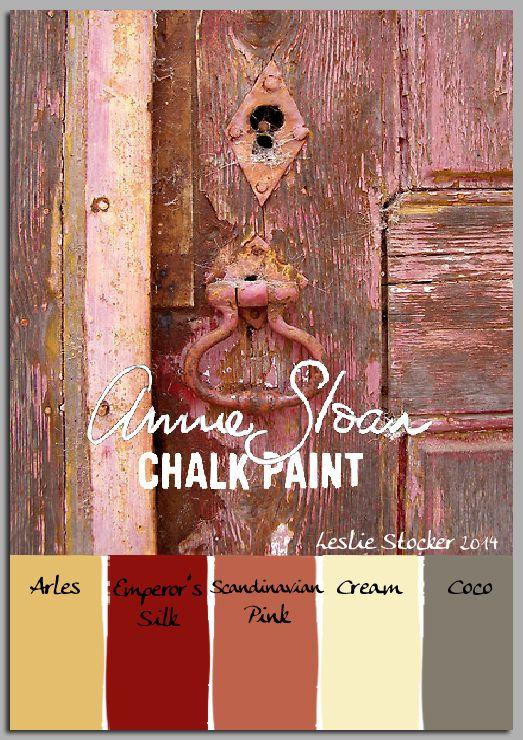 Annie Sloan Krijtverf en Annie Sloan Workshops http://www.debestekrijtverf.nl  | COLORWAYS  Colors from Carl Larsson's Sweden in Annie Sloan's Chalk Paint