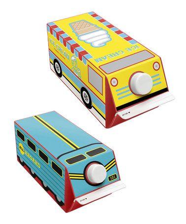 Look what I found on #zulily! Truck & Train Sticker - Set of Two #zulilyfinds