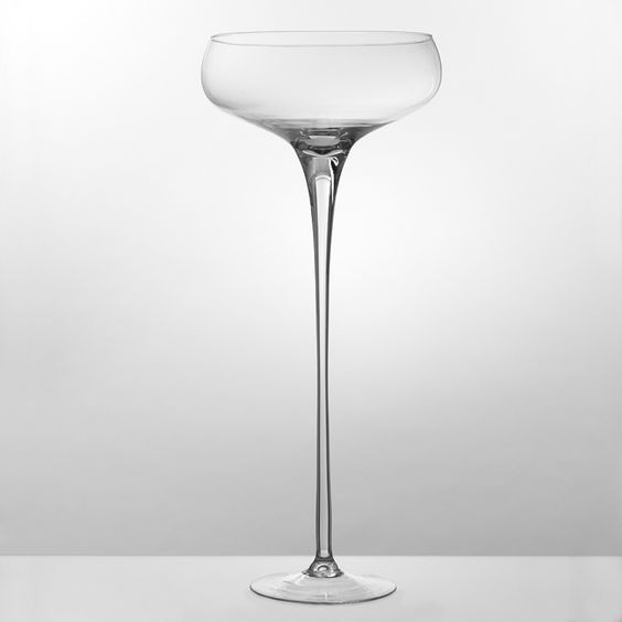 Pinterest the world s catalog of ideas - Grand verre a pied centre de table ...