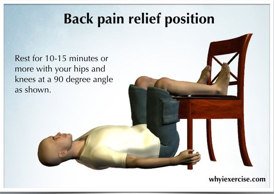 Lower Back Ache Car Seat Remedy