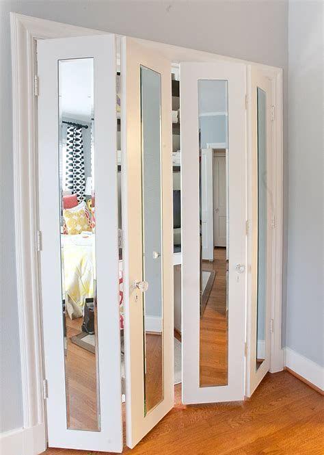 60 Best Accordion Doors Ideas For Your House Portes De Placard Miroir Porte Placard Coulissante Porte Placard Pliante