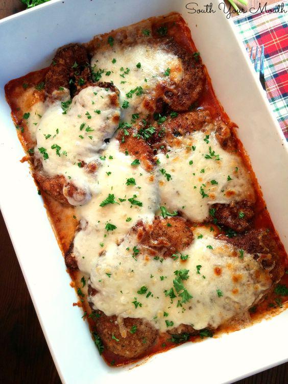 Crispy chicken, Parmesan and Chicken cutlets on Pinterest