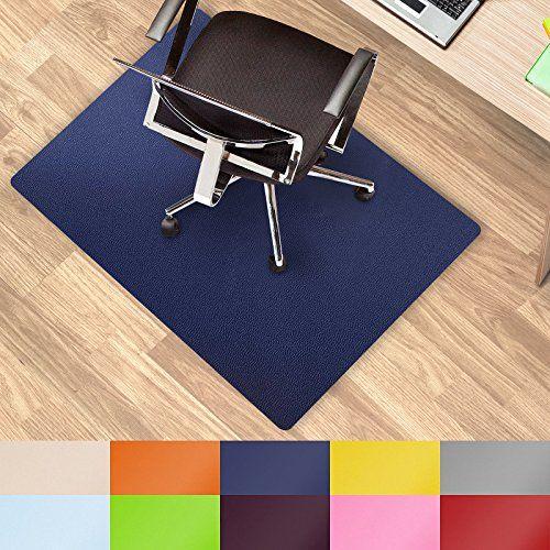 Etm Coloured Office Chair Mat Dark Blue 75x120cm 2 5 X4