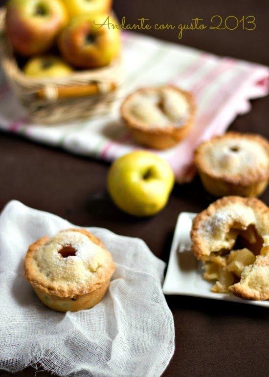 Mini Pie di mele selvatiche