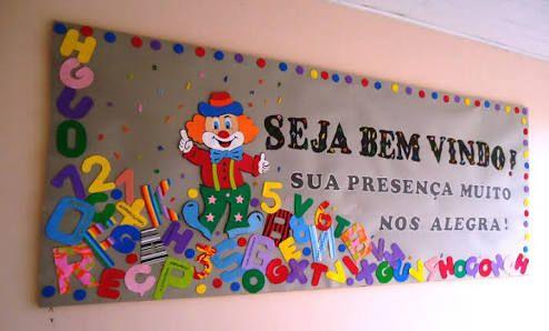 Painel De Boas Vindas Retorno As Aulas De Ferias Escolares