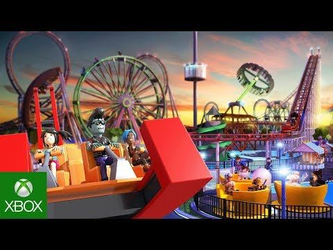 Roblox Theme Park Tycoon 2 Trailer Roblox Theme Park Youtube