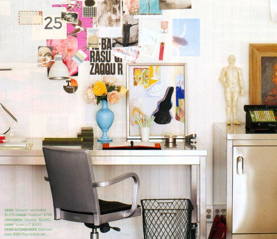 I must want to create a design studio because I have been desk inspiration hunting crazy lately!