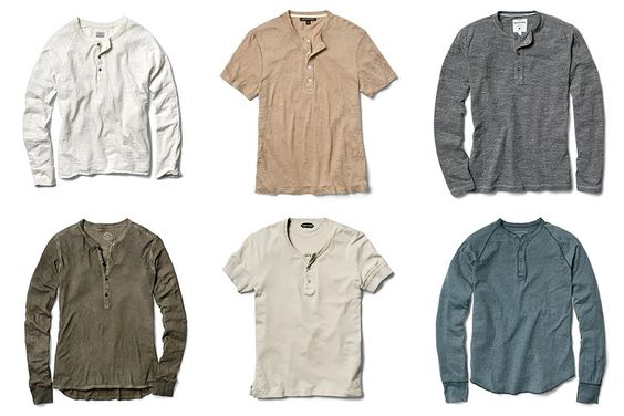 Henleys: The Shirt That Gives You Sex Appeal In Three Seconds Flat Photos | GQ