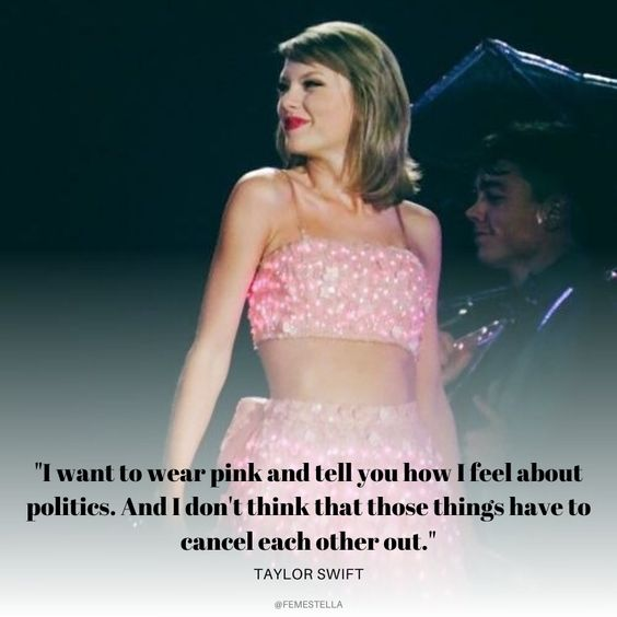 taylor swift inspiring feminist quotes