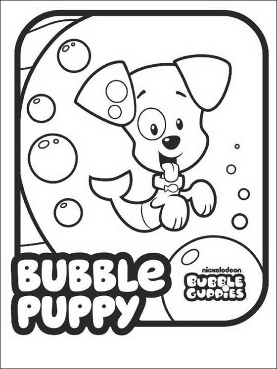 Dynamite image within bubble guppies printable coloring pages