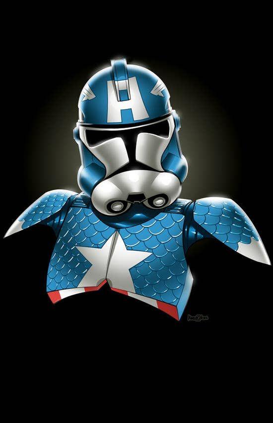 Stormtroopers x Captain America