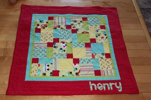 I like the border on this D9P quilt